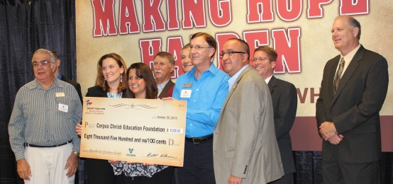 Thank You, VALERO! – $8,500 for Special Education