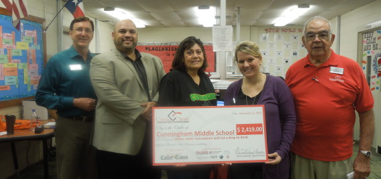 CCEF Awards $56,877 to CCISD Teachers, Students